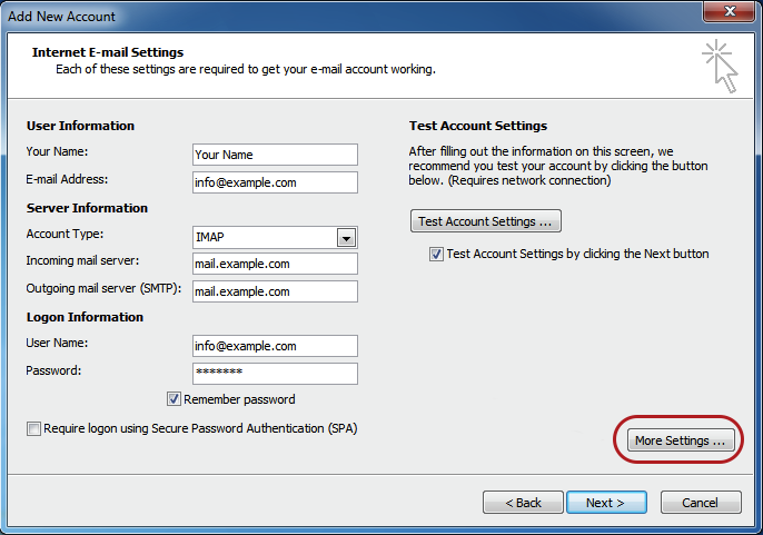how to find my smtp server ip address